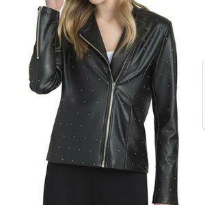 Lysse Black Bowery Vegan Leather Moto Jacket